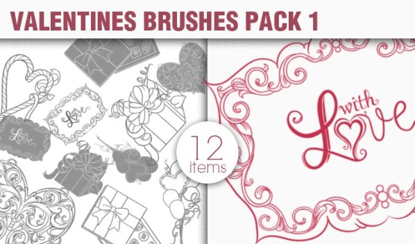 designious brushes valentines 1 small New Vectors Packs, Brushes & T shirt Designs from Designious.com!
