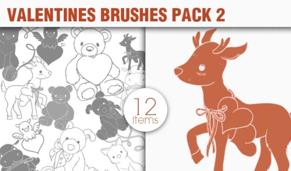designious brushes valentines 2 small New Vectors Packs, Brushes & T shirt Designs from Designious.com!