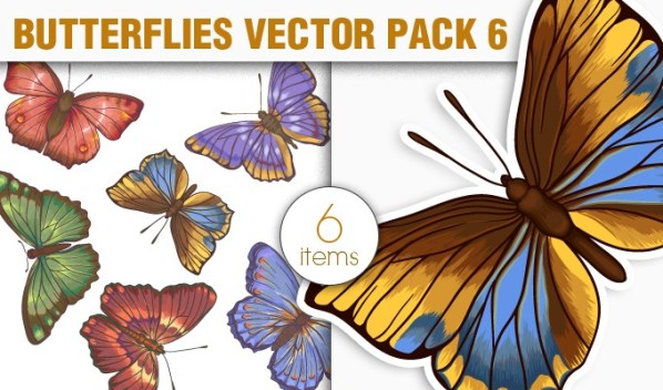 designious vector butterflies 6 small New Vectors Packs, Brushes & T shirt Designs from Designious.com!