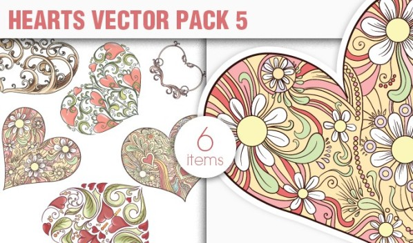 designious vector hearts 5 small New Vectors Packs, Brushes & T shirt Designs from Designious.com!