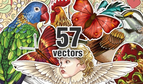 designious vector spring bundle 2 New Vectors Packs, Brushes & T shirt Designs from Designious.com!
