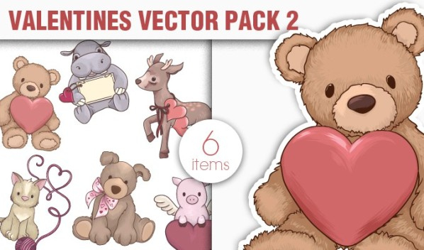 designious vector valentines 2 small New Vectors Packs, Brushes & T shirt Designs from Designious.com!