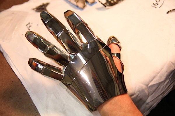 iron man 2 glove Stereolithography: The Science behind 3D Printing