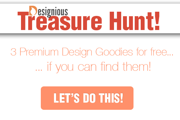 treasure hunt1 25% Valentines Day Discount and Treasure Hunt at Designious.com!