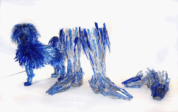 Amazing glass shard sculptures Marta Klonowska 11 Amazing Glass Shard Sculptures by Marta Klonowska