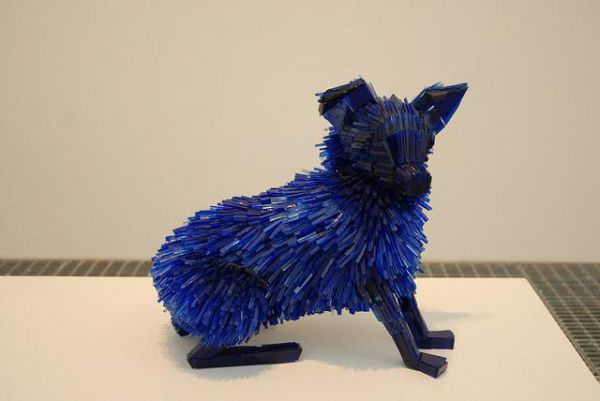 Amazing glass shard sculptures Marta Klonowska 5 Amazing Glass Shard Sculptures by Marta Klonowska
