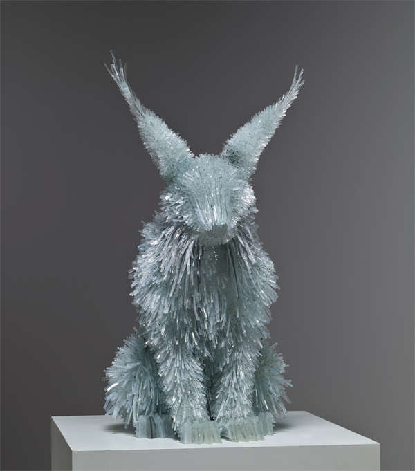 Amazing glass shard sculptures Marta Klonowska 6 Amazing Glass Shard Sculptures by Marta Klonowska