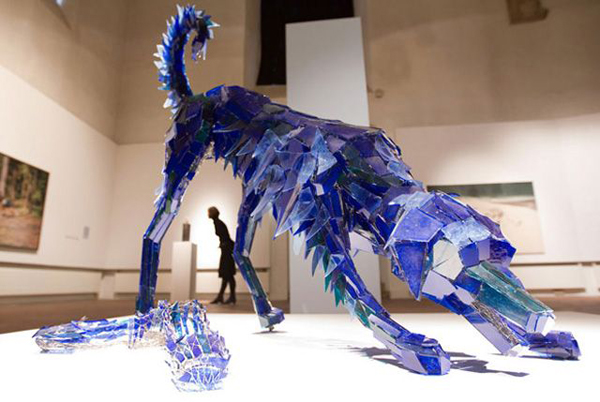 Amazing glass shard sculptures Marta Klonowska 7 Amazing Glass Shard Sculptures by Marta Klonowska