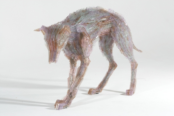 Amazing glass shard sculptures Marta Klonowska 9 Amazing Glass Shard Sculptures by Marta Klonowska