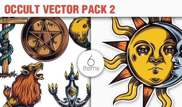 designious vector occult 2 small 10 New Fabulous Vintage Vector Packs & Freebie from Designious.com