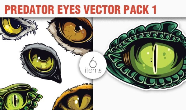 designious vector predators 1 small 10 New Fabulous Vintage Vector Packs & Freebie from Designious.com