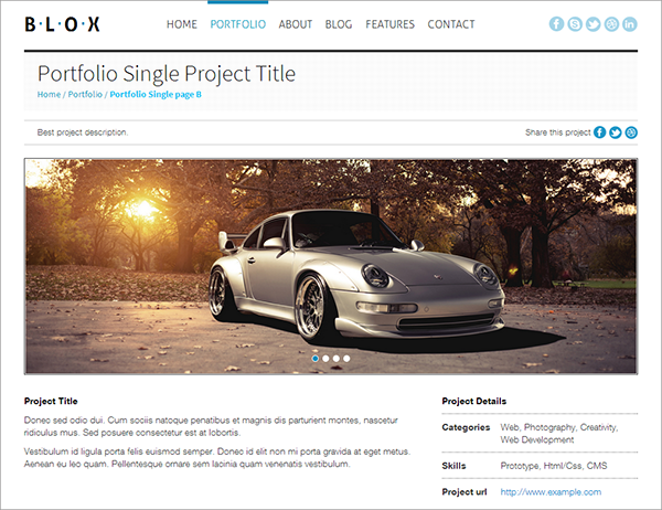 BLOX Site Template Giveaway: 4 Premium Responsive HTML Templates from Wini Themes!