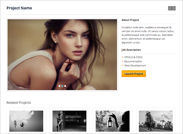 Beaumonde Site Template Giveaway: 4 Premium Responsive HTML Templates from Wini Themes!
