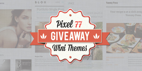 cover Giveaway: 4 Premium Responsive HTML Templates from Wini Themes!