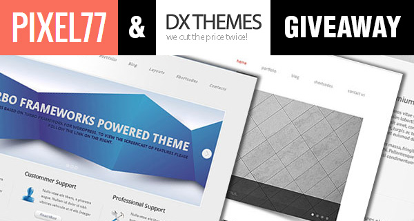 DXThemes giveaway win 1 of 5 freelancer startup kits 1 DXThemes Giveaway Winners: Win 1 of 5 Freelancer Startup Kits!