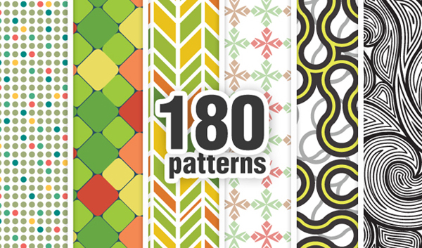 designious bundle geometric 13 New at Designious: 30 New Splendid Seamless Patterns Vector Packs & 1 Mega Pack