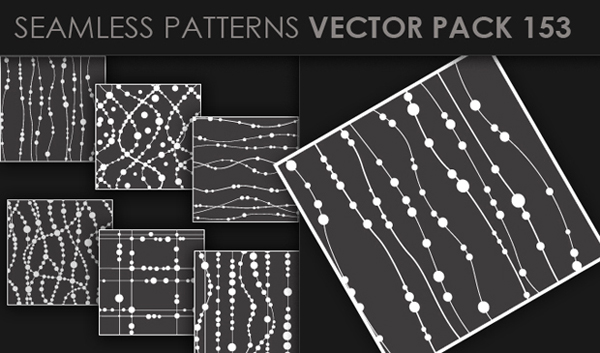 designious vector seamless 153 small New at Designious: 30 New Splendid Seamless Patterns Vector Packs & 1 Mega Pack