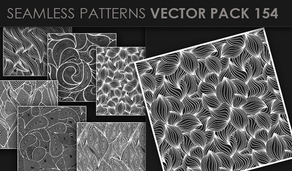 designious vector seamless 154 small New at Designious: 30 New Splendid Seamless Patterns Vector Packs & 1 Mega Pack
