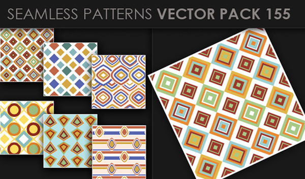 designious vector seamless 155 small New at Designious: 30 New Splendid Seamless Patterns Vector Packs & 1 Mega Pack
