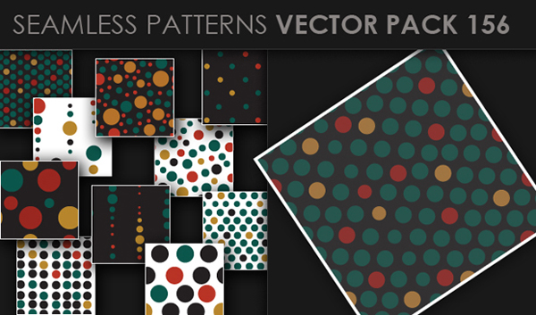 designious vector seamless 156 small New at Designious: 30 New Splendid Seamless Patterns Vector Packs & 1 Mega Pack