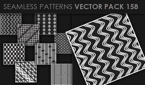 designious vector seamless 158 small New at Designious: 30 New Splendid Seamless Patterns Vector Packs & 1 Mega Pack