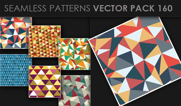 designious vector seamless 160 small New at Designious: 30 New Splendid Seamless Patterns Vector Packs & 1 Mega Pack