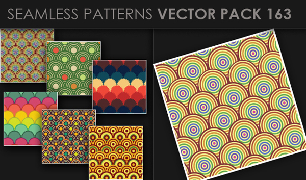 designious vector seamless 163 small New at Designious: 30 New Splendid Seamless Patterns Vector Packs & 1 Mega Pack