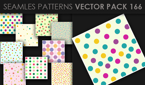 designious vector seamless 166 small New at Designious: 30 New Splendid Seamless Patterns Vector Packs & 1 Mega Pack