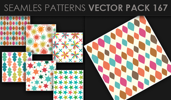 designious vector seamless 167 small New at Designious: 30 New Splendid Seamless Patterns Vector Packs & 1 Mega Pack
