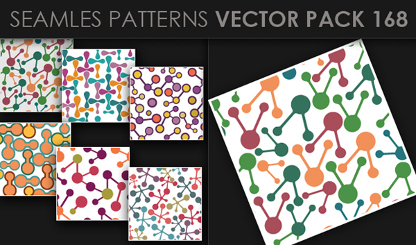 designious vector seamless 168 small New at Designious: 30 New Splendid Seamless Patterns Vector Packs & 1 Mega Pack