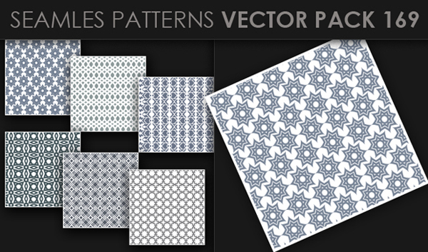 designious vector seamless 169 small New at Designious: 30 New Splendid Seamless Patterns Vector Packs & 1 Mega Pack