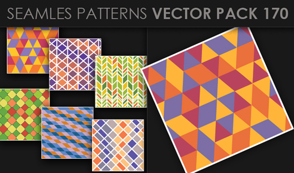 designious vector seamless 170 small New at Designious: 30 New Splendid Seamless Patterns Vector Packs & 1 Mega Pack