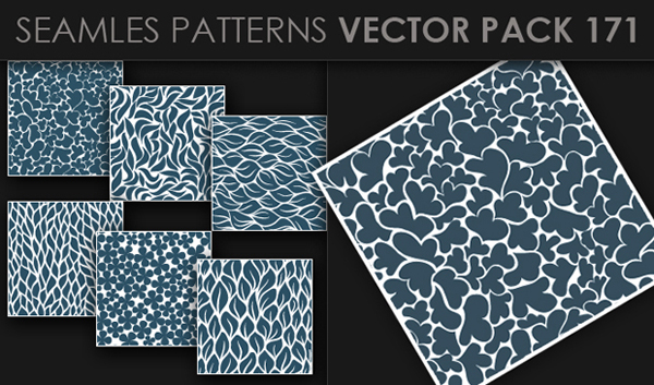 designious vector seamless 171 small New at Designious: 30 New Splendid Seamless Patterns Vector Packs & 1 Mega Pack