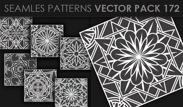designious vector seamless 172 small New at Designious: 30 New Splendid Seamless Patterns Vector Packs & 1 Mega Pack