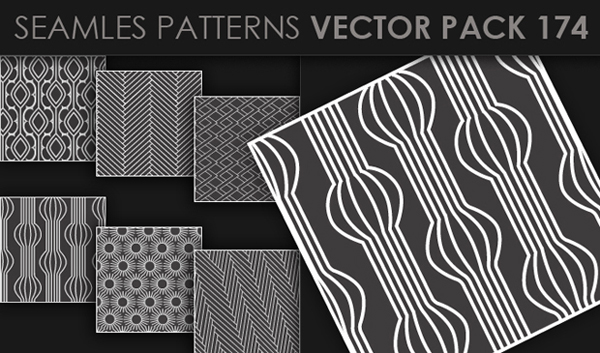 designious vector seamless 174 small New at Designious: 30 New Splendid Seamless Patterns Vector Packs & 1 Mega Pack