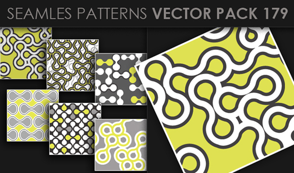 designious vector seamless 179 small New at Designious: 30 New Splendid Seamless Patterns Vector Packs & 1 Mega Pack