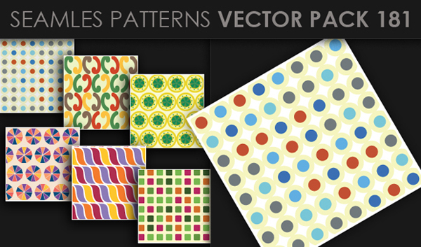 designious vector seamless 181 small New at Designious: 30 New Splendid Seamless Patterns Vector Packs & 1 Mega Pack