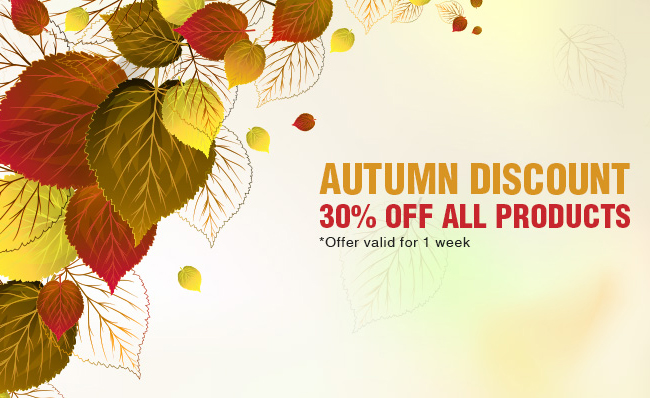 designious discount pixel77 Autumn Special: Get any product on Designious at 30% off