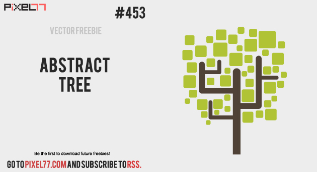 pixel77 free vector abstract tree 1028 630 Free Vector of the Day #453: Abstract Tree