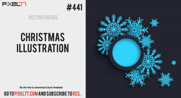 pixel77 free vector christmas illustration 1010 630 Free Vector of the Day #441: Christmas Illustration