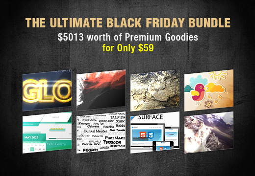 The Ultimate Black Friday Bundle THUMB Deal of the Week: The Ultimate Black Friday Bundle worth $5,013 for Only $59!