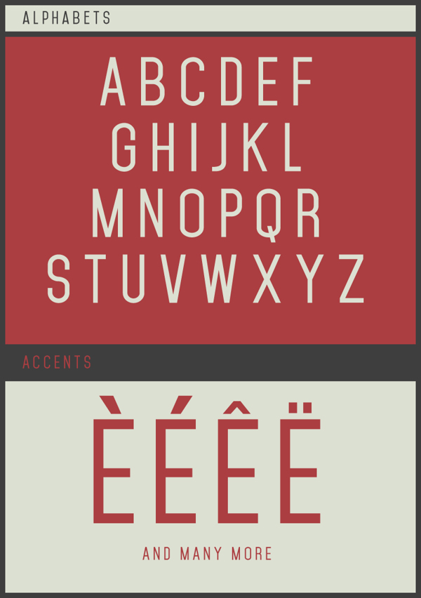 20 Fresh Free Fonts 6 Design Resources: 20 Fresh Free Fonts