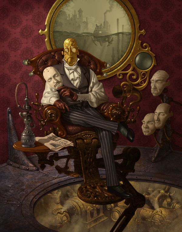 Artist of the Week Steampunk Illustrations by Antonio Caparo 11 Artist of the Week: Steampunk Illustrations by Antonio Caparo