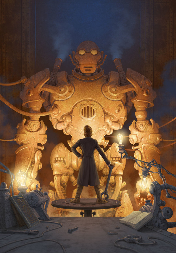 Artist of the Week Steampunk Illustrations by Antonio Caparo 2 Artist of the Week: Steampunk Illustrations by Antonio Caparo