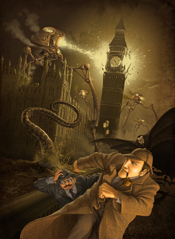 Artist of the Week Steampunk Illustrations by Antonio Caparo 7 Artist of the Week: Steampunk Illustrations by Antonio Caparo