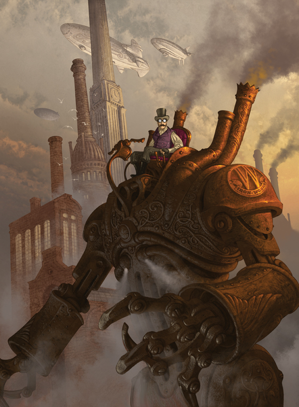 Artist of the Week Steampunk Illustrations by Antonio Caparo 8 Artist of the Week: Steampunk Illustrations by Antonio Caparo
