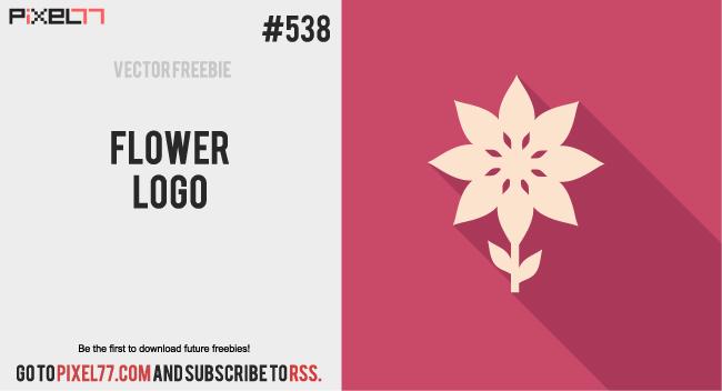 pixel77-free-vector-flower-logo-0224-650