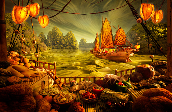 Foodscapes a.k.a Landscapes Made from Food by Carl Warner 14 Foodscapes a.k.a Landscapes Made from Food by Carl Warner