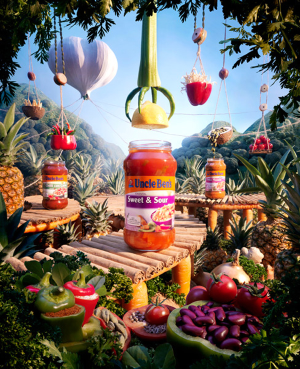Foodscapes a.k.a Landscapes Made from Food by Carl Warner 2 Foodscapes a.k.a Landscapes Made from Food by Carl Warner