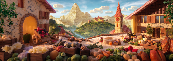 Foodscapes a.k.a Landscapes Made from Food by Carl Warner 3 Foodscapes a.k.a Landscapes Made from Food by Carl Warner